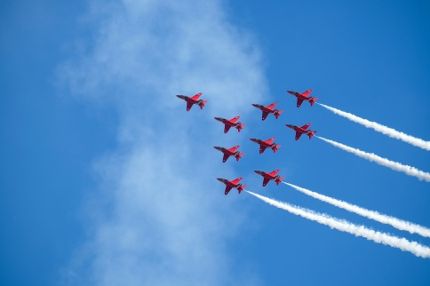 Red Arrows, Duxford