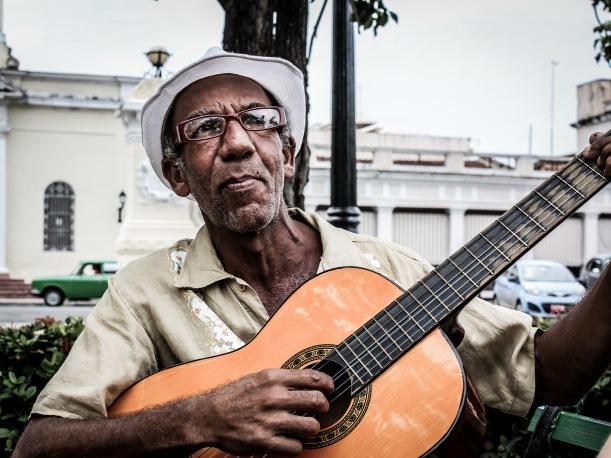 Guitarist, Cienfuegos, Cuba