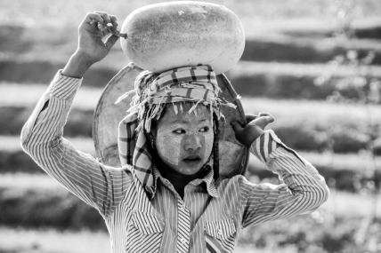 Woman, Shan State, Myanmar