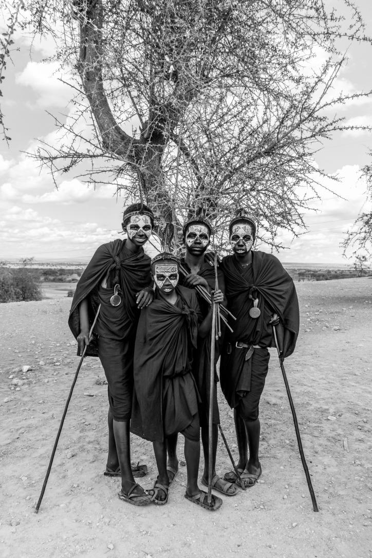 Teenaged boys, Tanzania