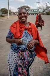 Trinket seller, Tanzania